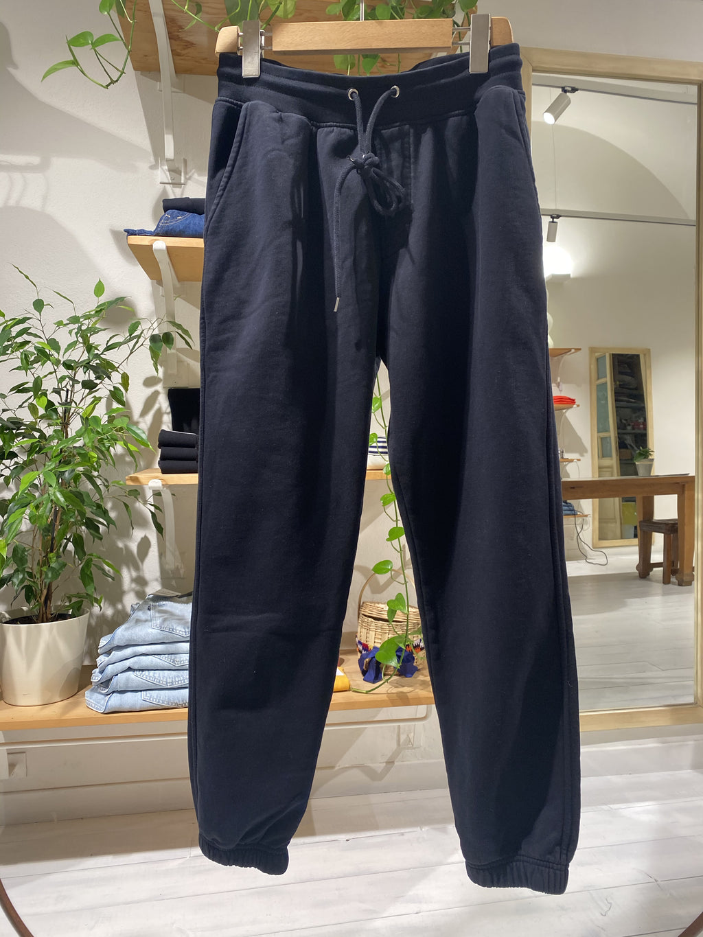 Sweatpants COLORFUL STANDARD - BLACK