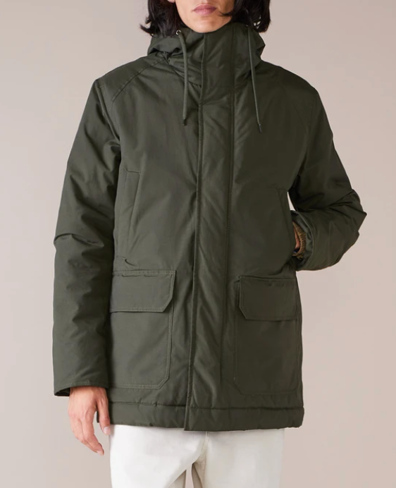 JUBAR COAT - BELLEROSE _ Military Green