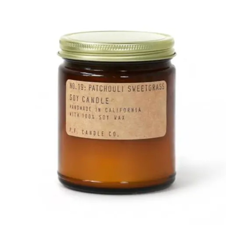 PF CANDLE - PATCHOULI SWEETGRASS