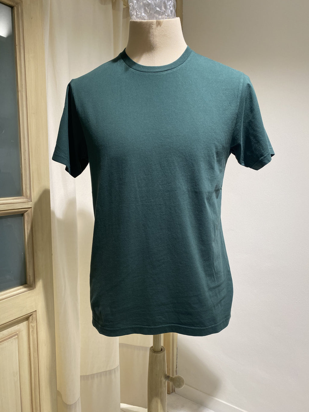 M T-SHIRT COLORFUL STANDARD - EMERALD GREEN