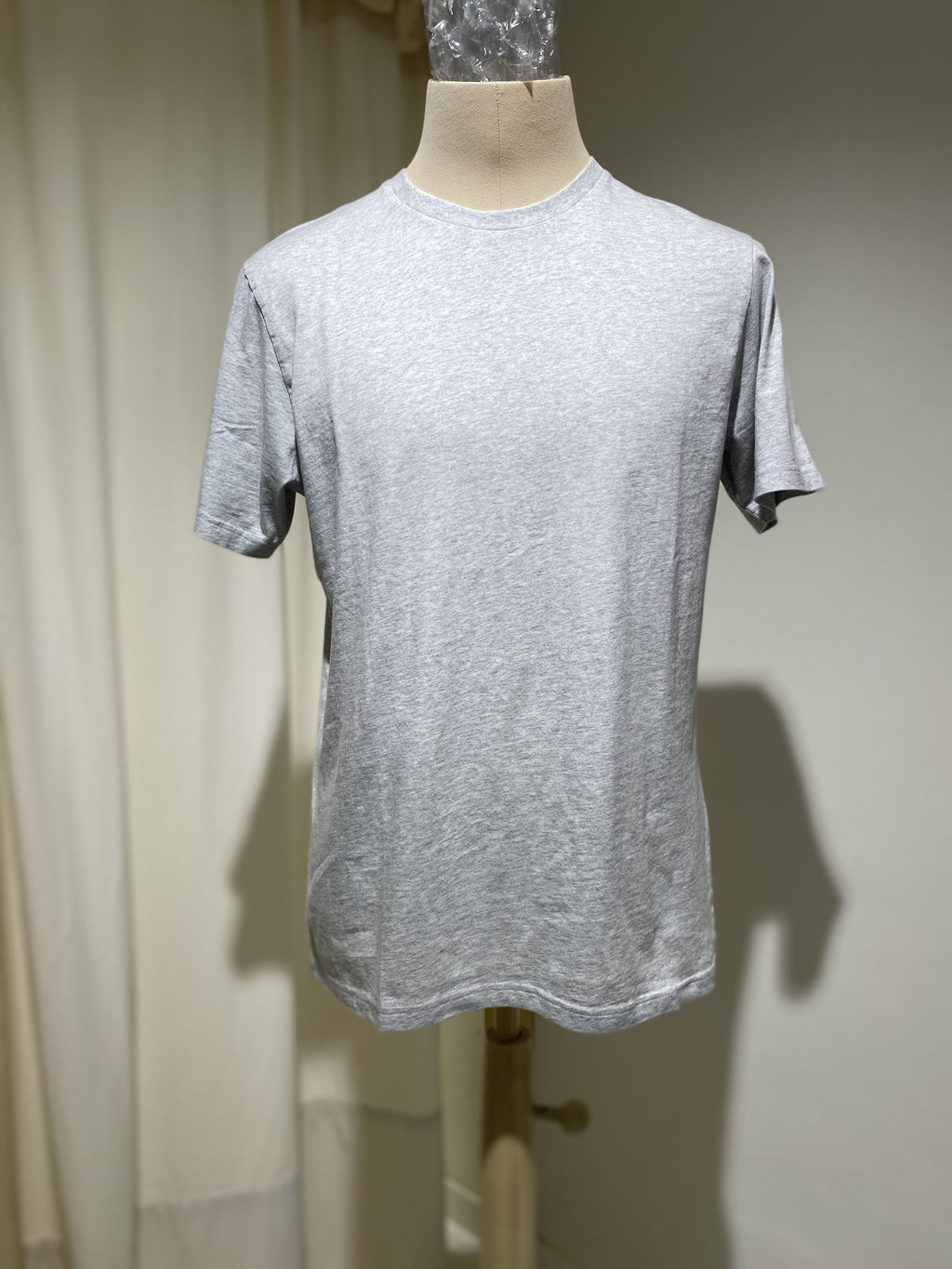 M T-SHIRT COLORFUL STANDARD - LIGHT GREY MELANGE