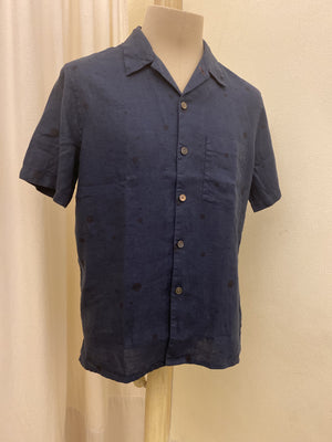 Camicia Maniche Corte PS Paul Smith - BLU