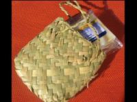 Medium Guest Soap in Flax Kete