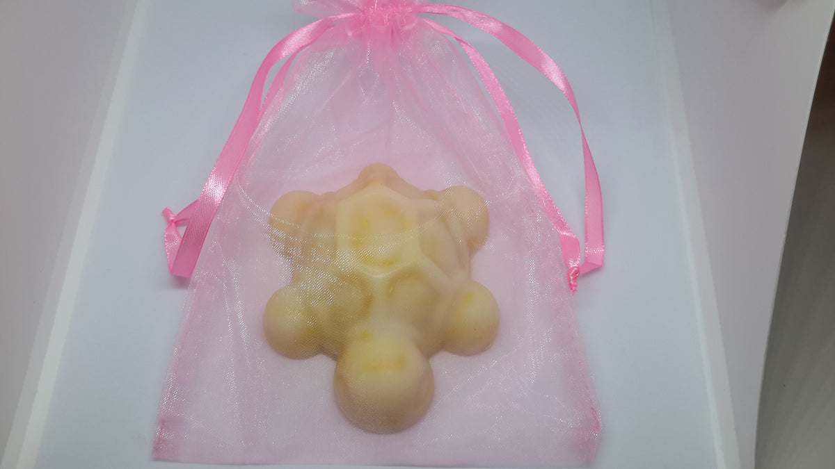 Turtle Soap in Organza Bag (Pink)
