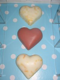 heart soap - medium