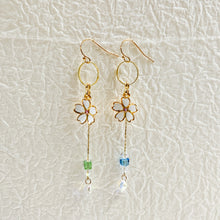 Load images into the gallery viewer,Cherry blossom earrings【ps21Fe01】