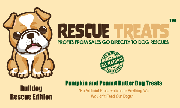 Bulldog Edition - Pumpkin and Peanut Butter Dog Treats