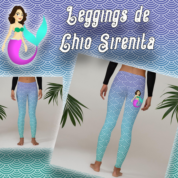 Leggings de Chio Sirenita