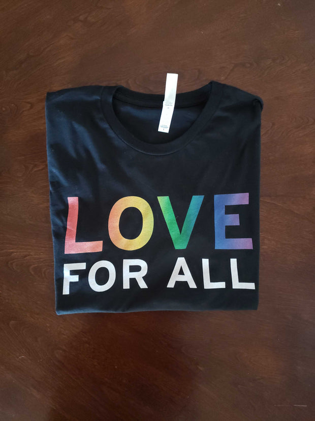 Love For All (Rainbow) T-Shirt