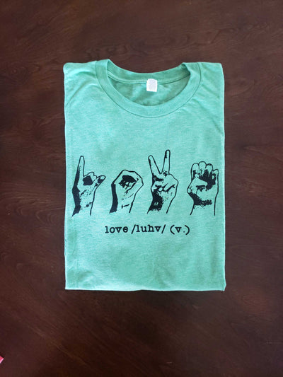 LOVE (American Sign Language) T-Shirt