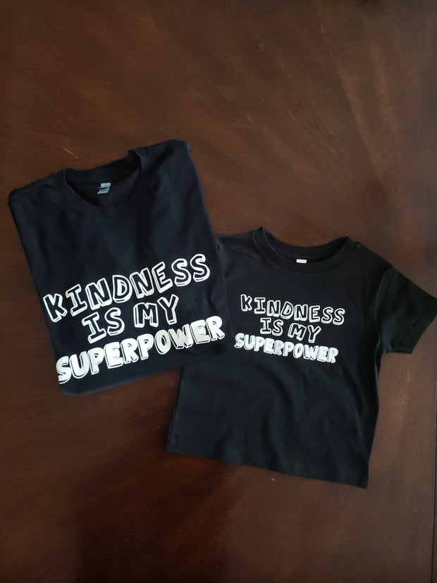 Kindness Is My Superpower - Kid's T-Shirt