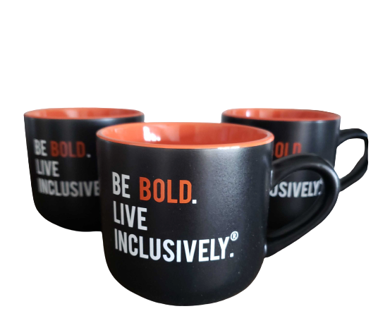 Be BOLD Live Inclusively® Mug (15 oz)