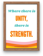 Where There Is Unity Digital Print
