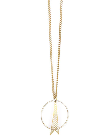 Cartwheel Necklace