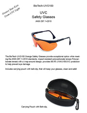 UVC Safety Glasses -BioTech-VCG100 - Free Shipping