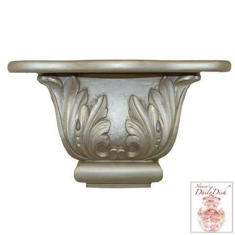 Scroll Leaf Wall Corbel Bracket Ornamental Shelf