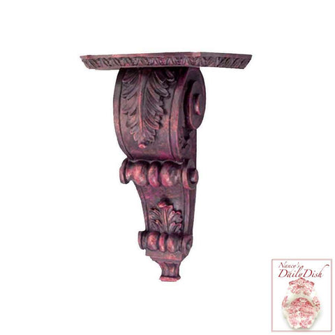 Acanthus Wall Corbel Bracket Ornamental Shelf