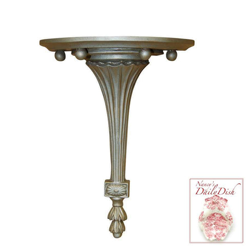 Architectural Fluted Wall Corbel Bracket Ornamental Shelf OverDoor