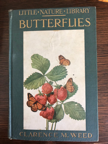 Vintage 1934 Coffee Table Book of Butterflies Nature Library w/ Color & B/W Plates