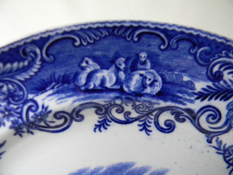 awesome rare antique blue and white china english charger plate with blue and white china. & Blue And White China. Rare Antique Blue And White China English ...