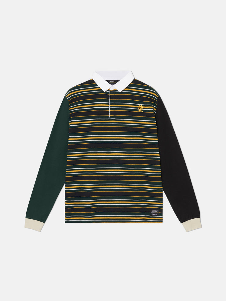 CONNOR STRIPED RUGBY POLO