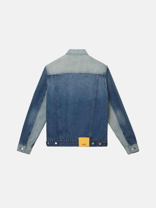 BLOCKED DENIM JACKET