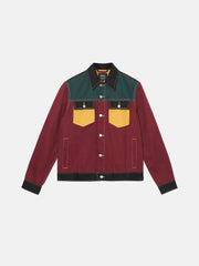COLORBLOCK DENIM JACKET