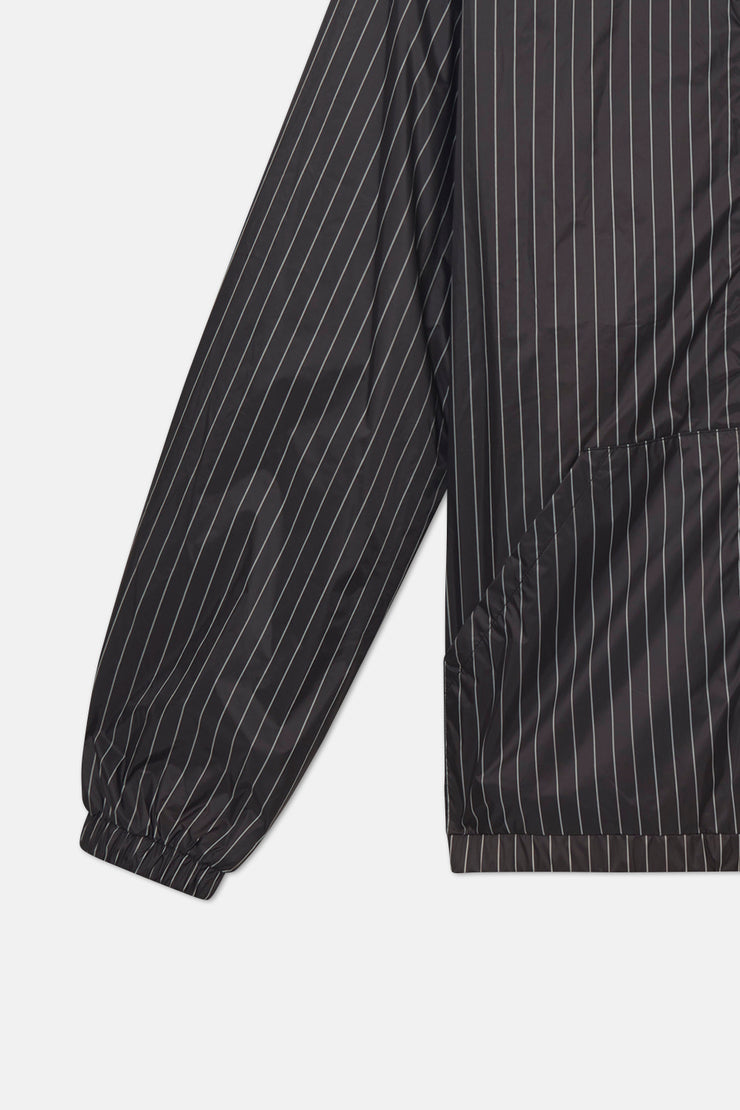 PINSTRIPE WINDBREAKER JACKET