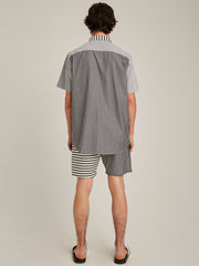 OLAVI STRIPED S/S SHIRT