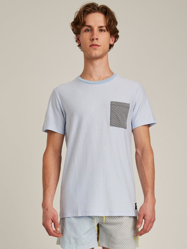 MAXWELL STRIPED T-SHIRT
