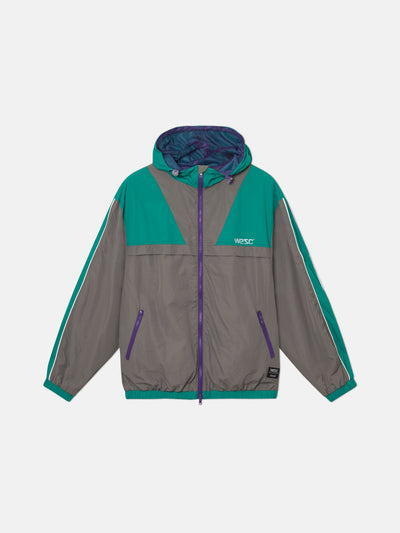 ATHLETIC BLOCK WINDBREAKER JACKET