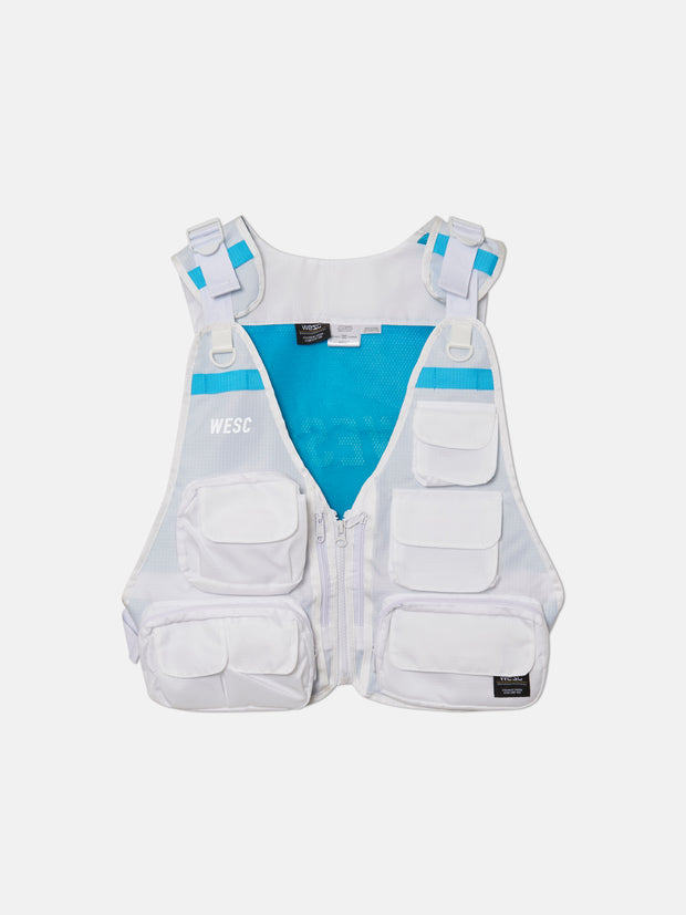 CARGO TRAVEL VEST JACKET