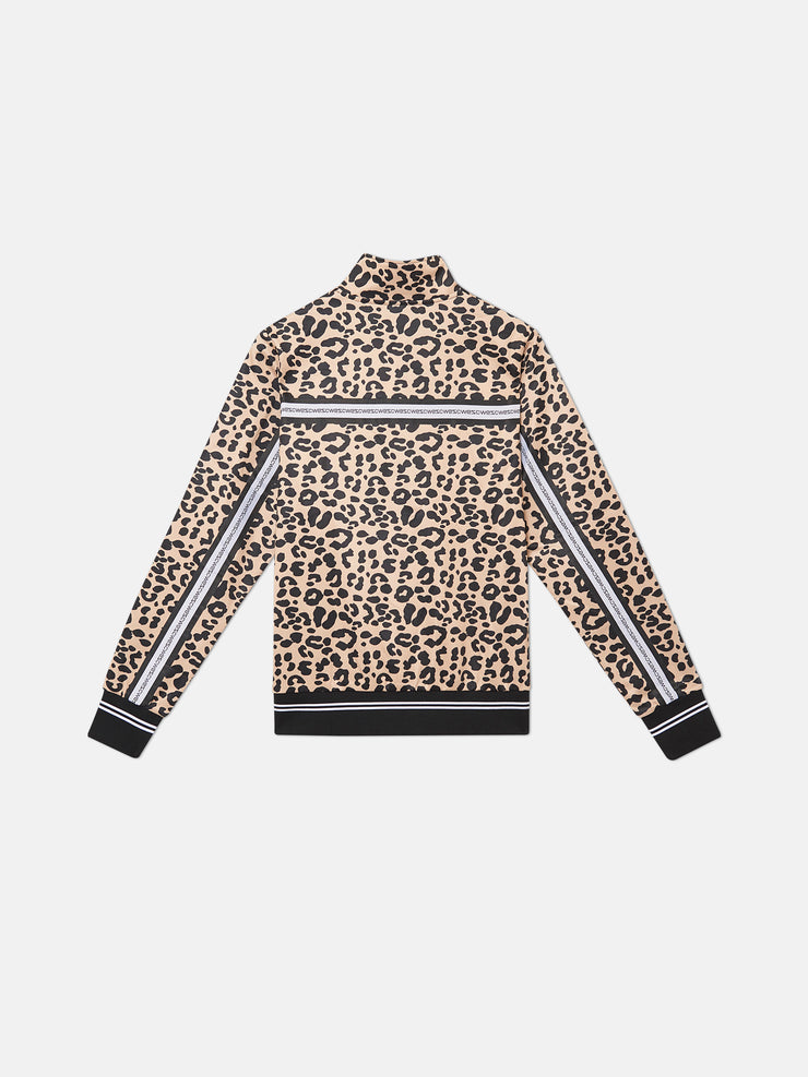 MARCUS LEOPARD TRACK JACKET
