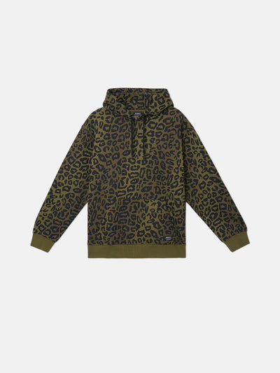 90S MIKE LEOPARD CAMO HOODIE