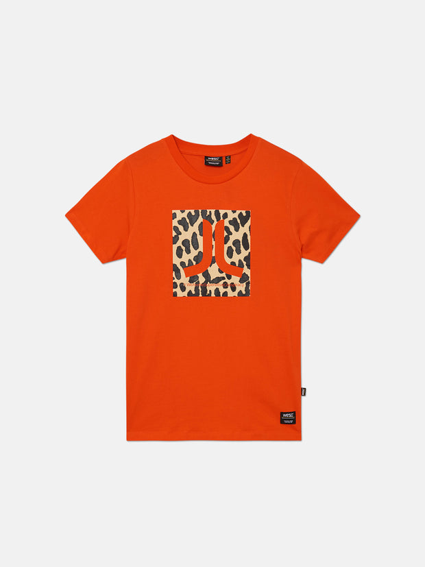 MAX LEOPARD ICON T-SHIRT