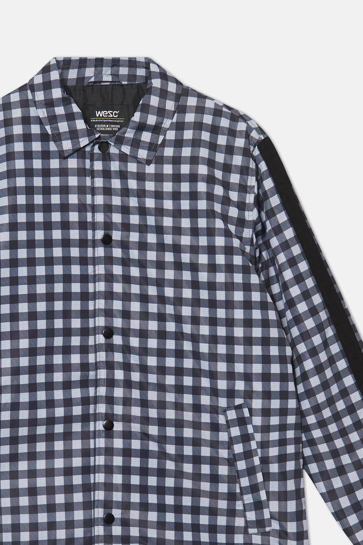 BUFFALO CHECK COACH JACKET