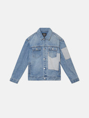 PATCH AND REPAIR DENIM JACKET