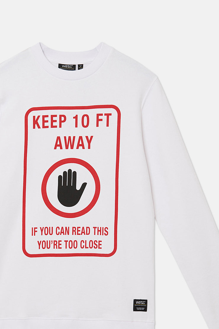 MILES KEEP AWAY SWEATSHIRT