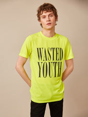 MAX WASTED YOUTH NEON T-SHIRT
