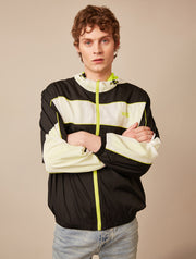 PANELLED TECH WINDBREAKER JACKET