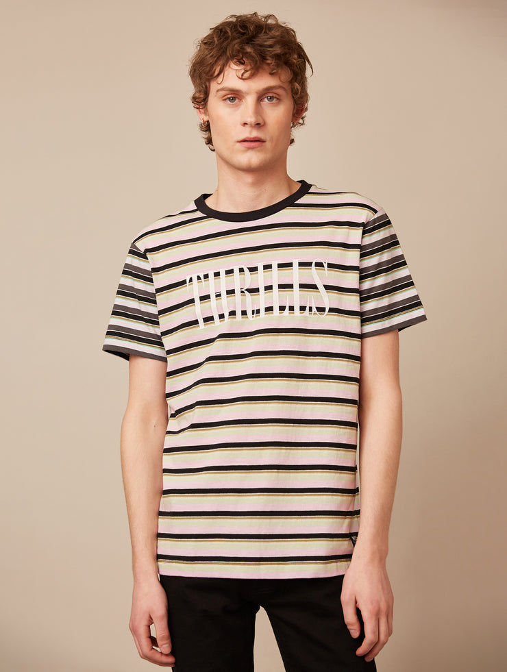 MAX THRILLS MULTI STRIPE T-SHIRT