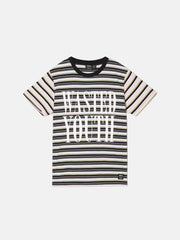 MAX WASTED YOUTH MULTI STRIPE T-SHIRT