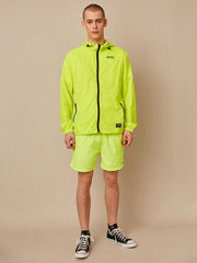 NEON PACKABLE WINDBREAKER JACKET