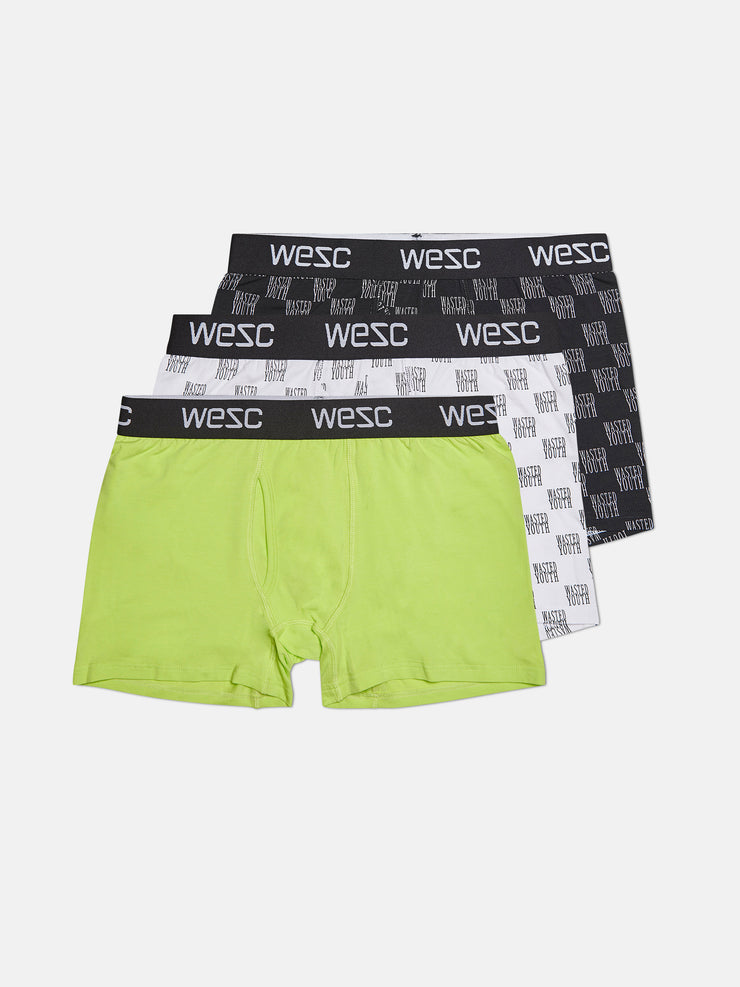 PHILIP WASTED YOUTH AOP BOXER BRIEF 3-PACK