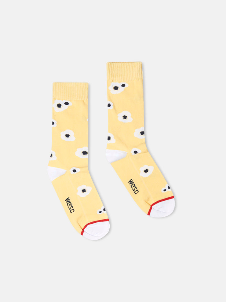 KENNEDY BIG POPPY VINTAGE CUT SOCK