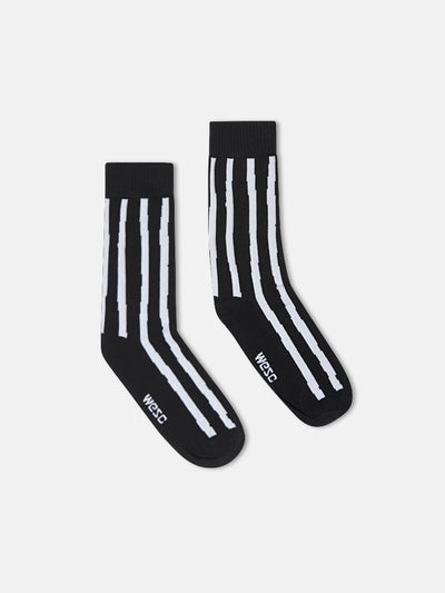 KENNEDY UNEVEN STRIPE VINTAGE CUT SOCK