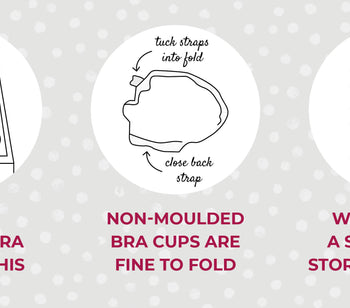 SHOULD I FOLD MY BRAS?