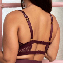 Eden Bralette Tea Rose