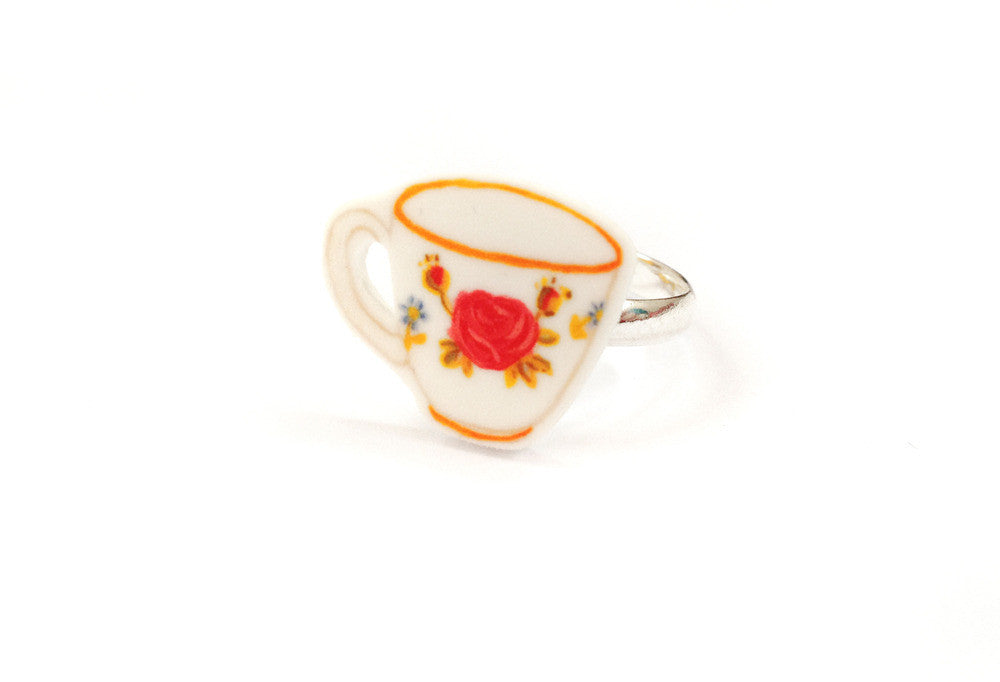 Anello Rose Tea Cup