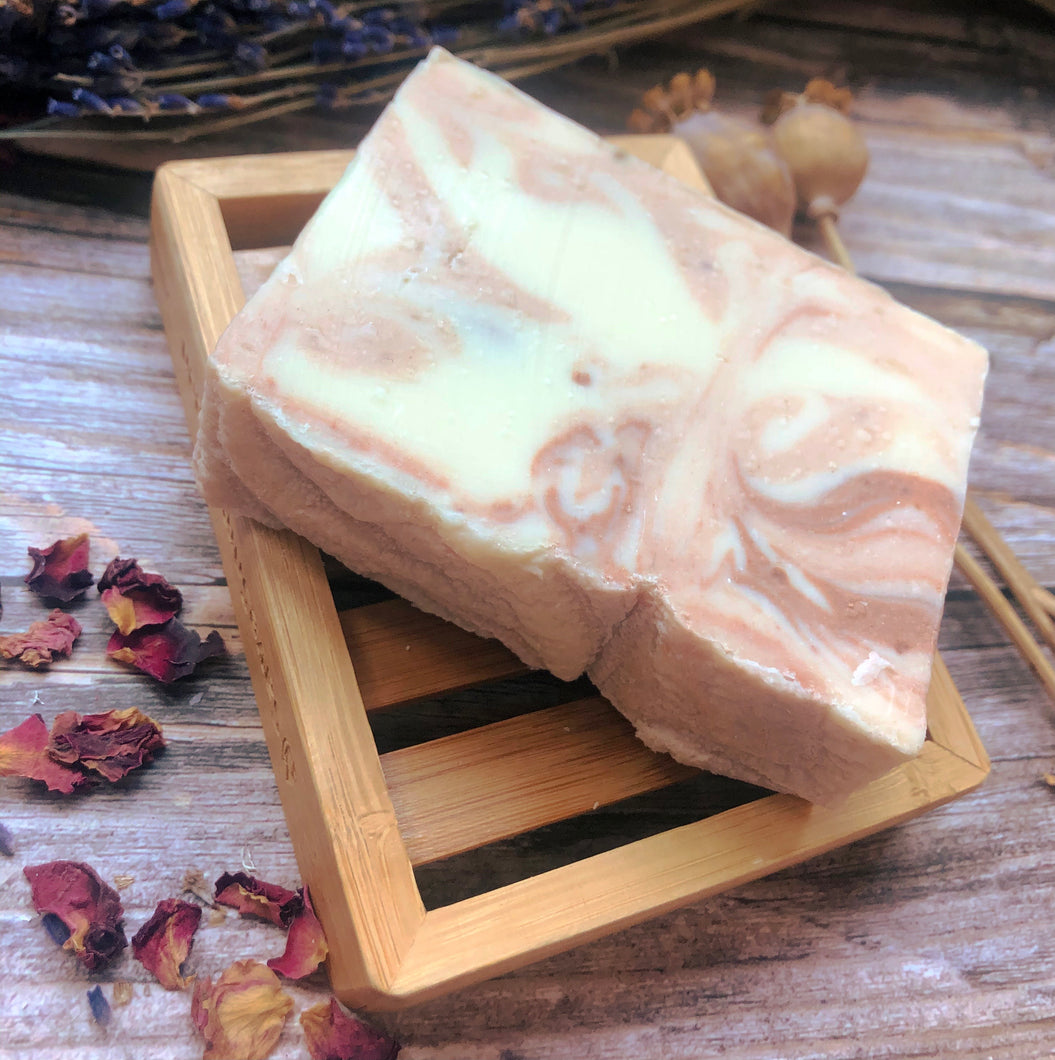 Wooden Soap Rack with Soap of your choice - Mad About Nature